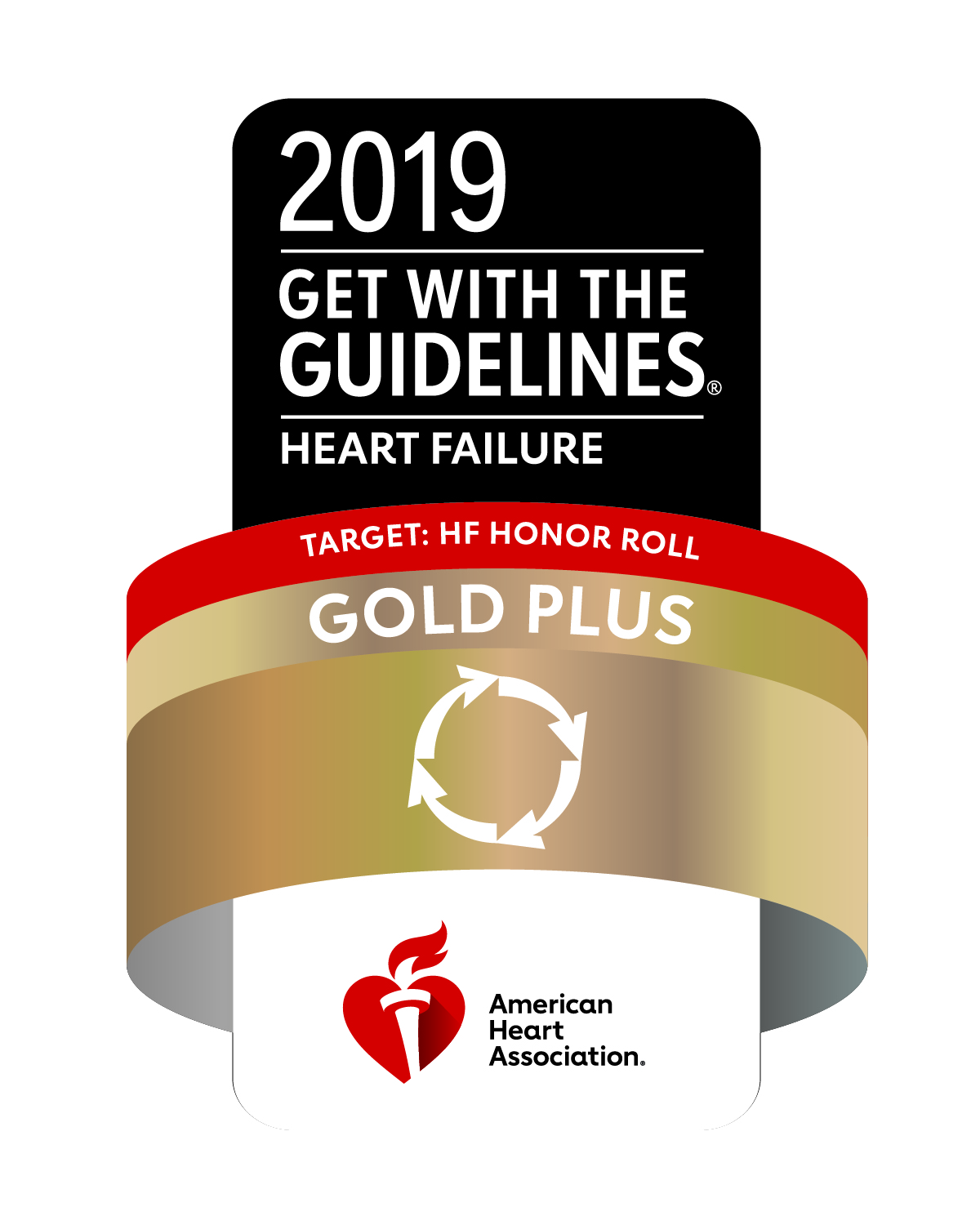 2018 Get with the Guidelines badge | heart failure | American Heart Association