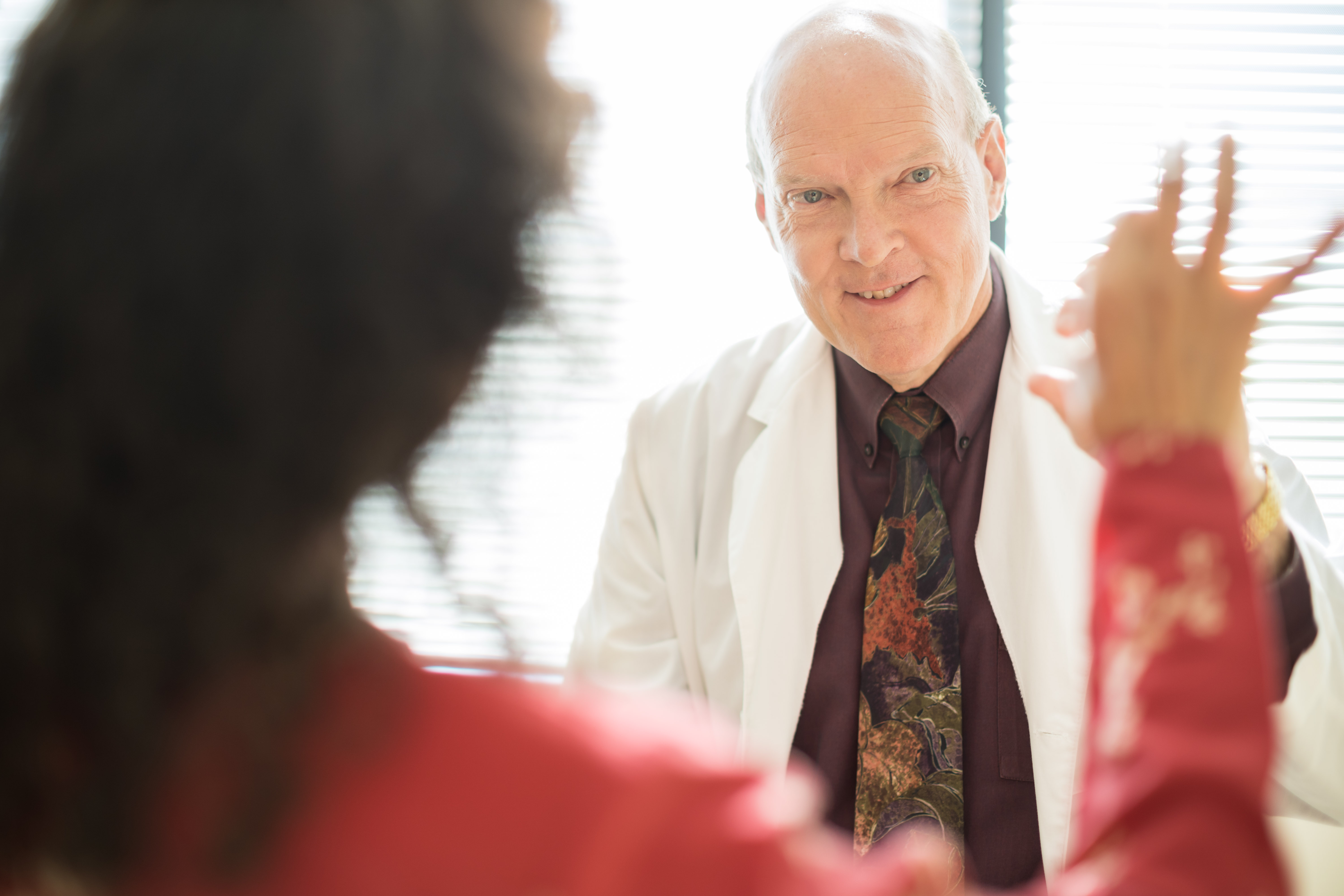 Dr. Joseph Quinn applies research findings to his care of patients