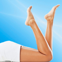 Surface laser therapy is typically performed in conjunction with sclerotherapy for minor to moderate varicose and spider veins.