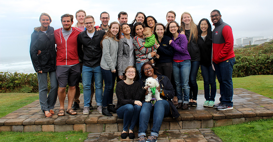 Group photo of the PGY-2 Resident Class at our Annual Retreat.
