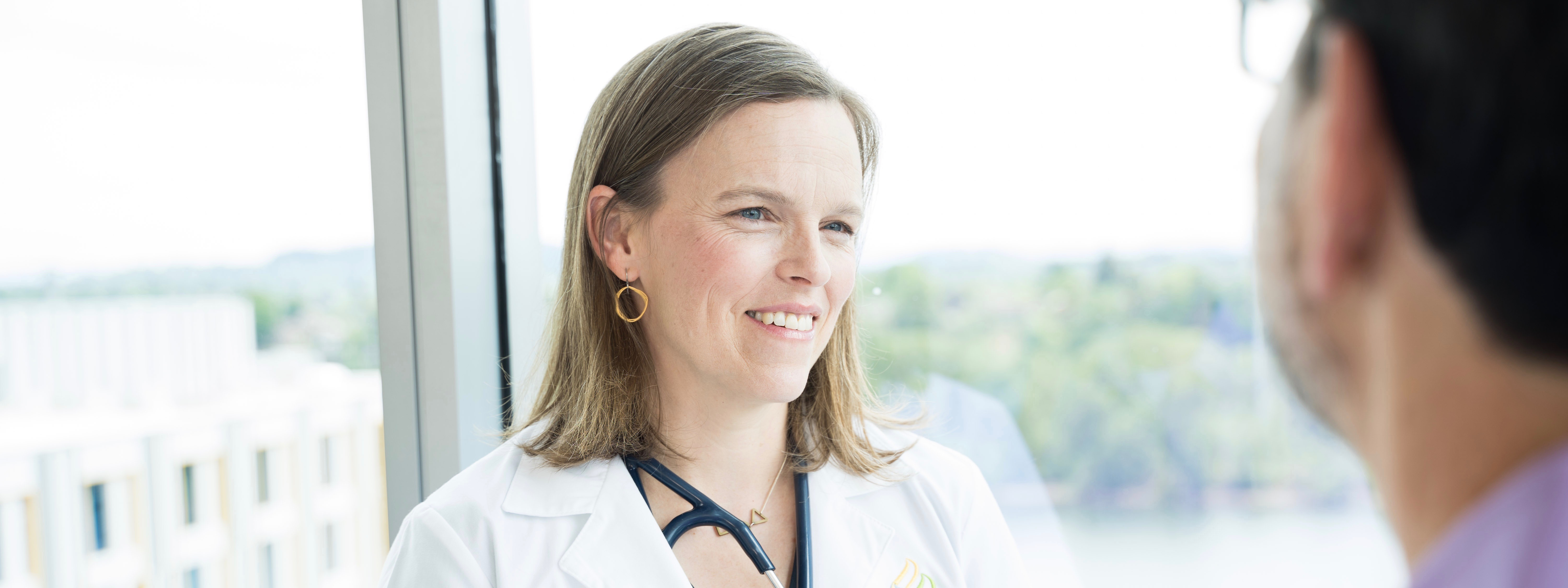 Dr. Rachel Cook has advanced training in blood cancers and blood disorders. Her focus areas include treating myelodysplastic syndromes.