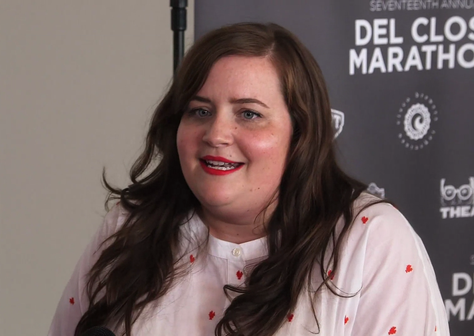 Aidy Bryant during an interview