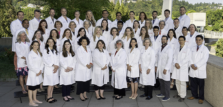 2019 dermatology faculty group photo