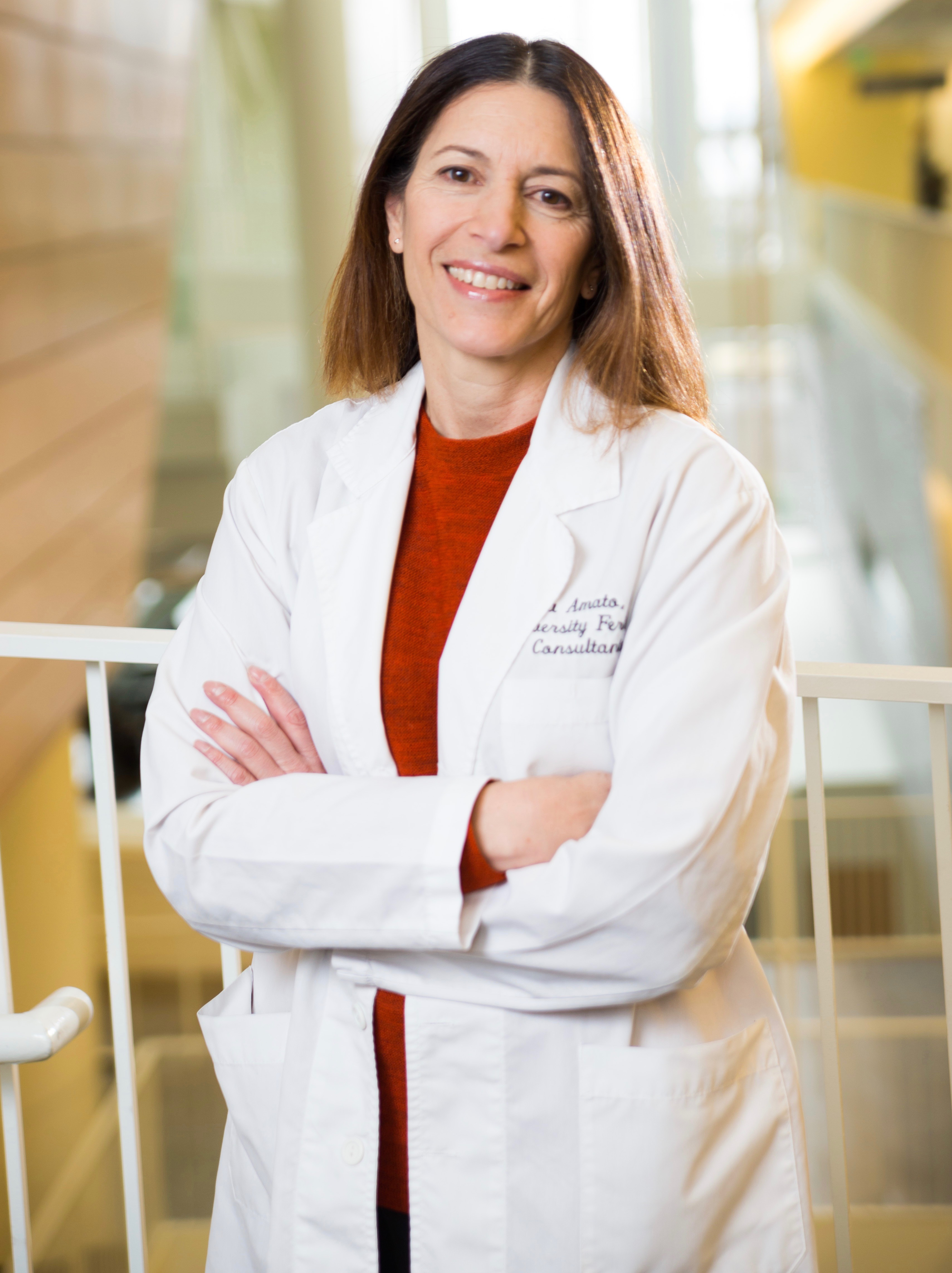Dr. Paula Amato, an expert in fertility, includes transgender care among her focus areas.