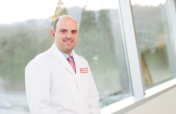 Dr. Jeremy Cetnar, a medical oncologist, specializes in treating prostate cancer and other urologic cancers. Dr. Cetnar is also a scientist who takes part in clinical trials.