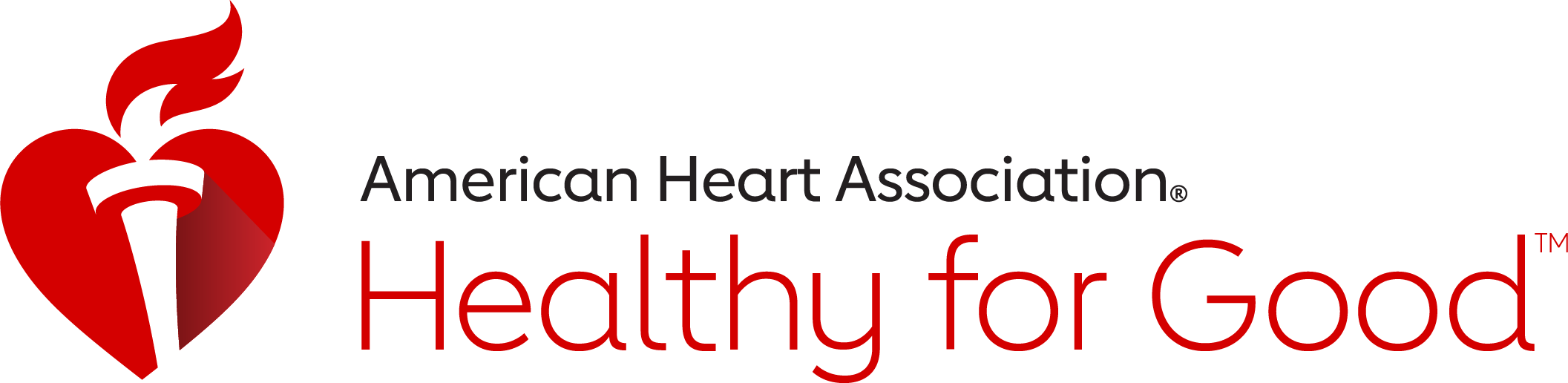 "American Heart Association logo badge for digital content, which reads ""American Heart Association"" and ""Healthy for Good."""