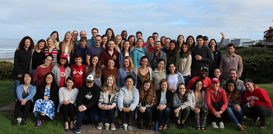 Group photo of the 2019 Resident Class at our annual retreat.
