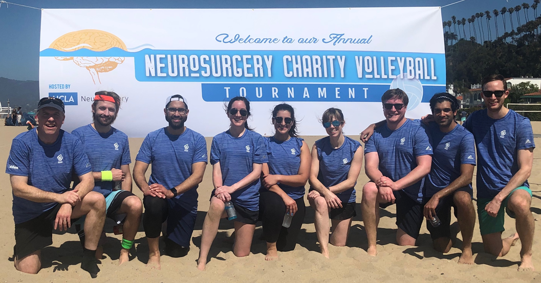 Neurosurgical Residents Volley Ball