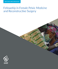 An image of the cover of OHSU's Fellowship in Female Pelvic Medicine and Reconstructive Surgery brochure.