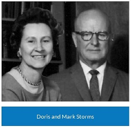 Doris and Mark Storms