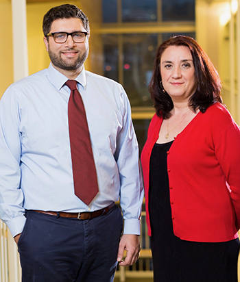 Our team includes Dr. Chafic Karam (left) and researcher Diana Dimitrova, Ph.D.