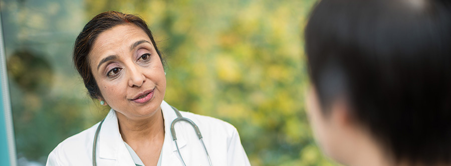 Primary care provider Dr. Sumathi Devarajan is an OHSU family medicine doctor with advanced training in geriatric medicine. She sees patients at our Richmond clinic in Southeast Portland.
