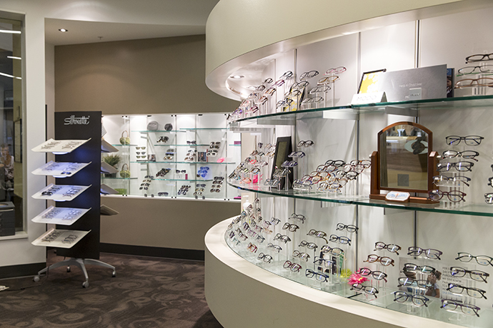 Our optical shops have a large variety of frames to choose from.