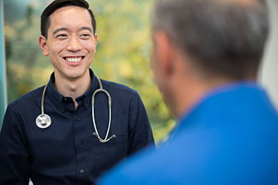 Dr. Anthony Cheng's primary care practice includes an emphasis on integrative medicine, meaning he considers your mental health and lifestyle as part of your overall well-being. He sees patients at OHSU's South Waterfront clinic.