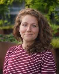 Headshot of Sarah Gothard, data scientist with ORCATECH