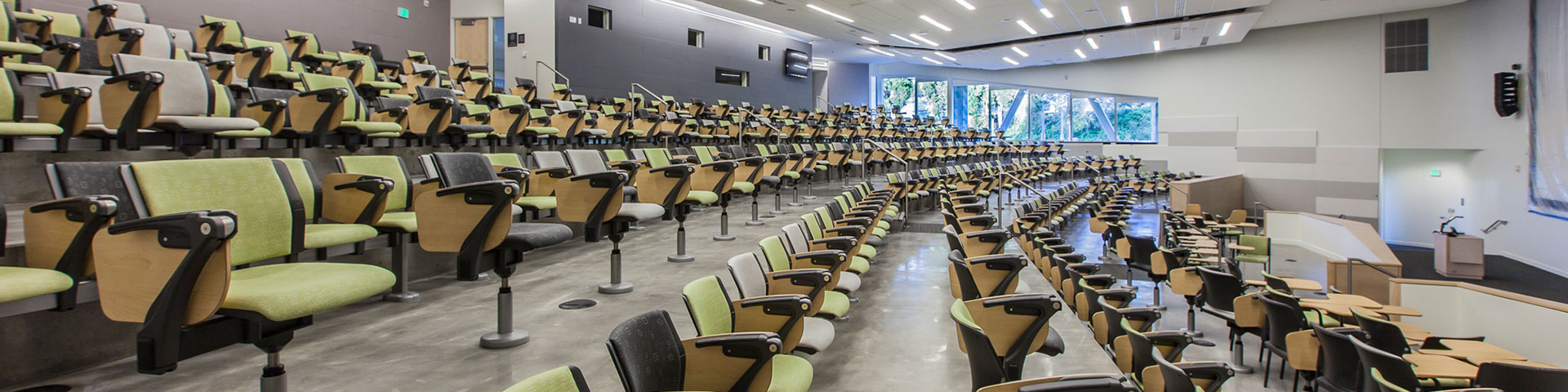 Image of a lecture hall.