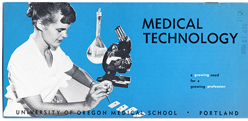 Medical Technology brochure, 1960. Archival Publications Collection.