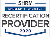 OHWC SHRM Recertification Provider 2020 Smaller logo