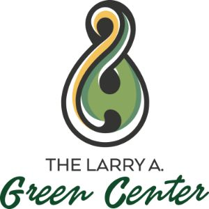 Color logo for the Larry A. Green Center