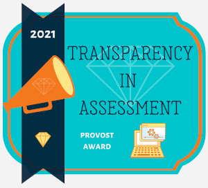 Transparency in Assessment Award