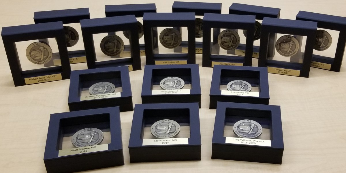 CPD Distinguished Educator award coins