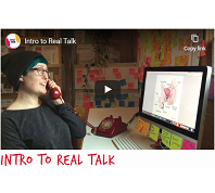 Video thumbnail of first Real Talk video