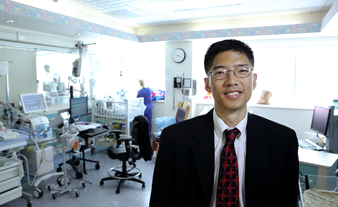 Michael Chiang, M.D., pediatric ophthalmologist
