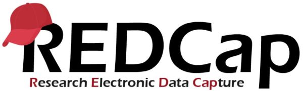 Logo for REDCap, which stands for Research Electronic Data Capture.