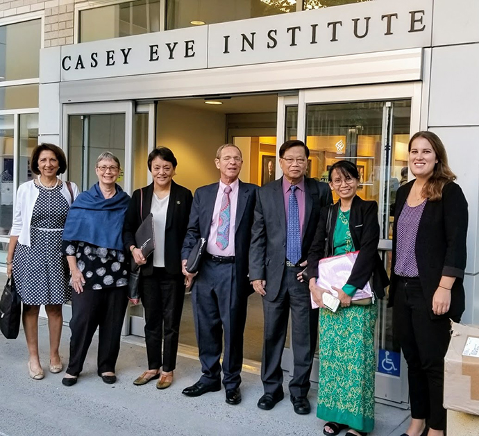 Group of U.S. and international speakers at the 2017 Public Health Ophthalmology Summit