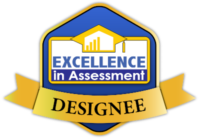 Excellence in Assessment Award Badge