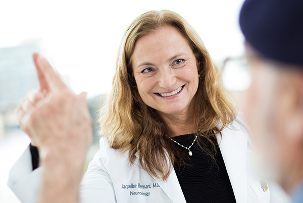 Our team, including Dr. Jackie Bernard, offers the expertise to give you a precise diagnosis so you can get the treatment you need.