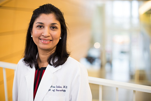 Dr. Vijayshree Yadav, a neurologist who specializes in MS, is part of our large team of expert providers and researchers.