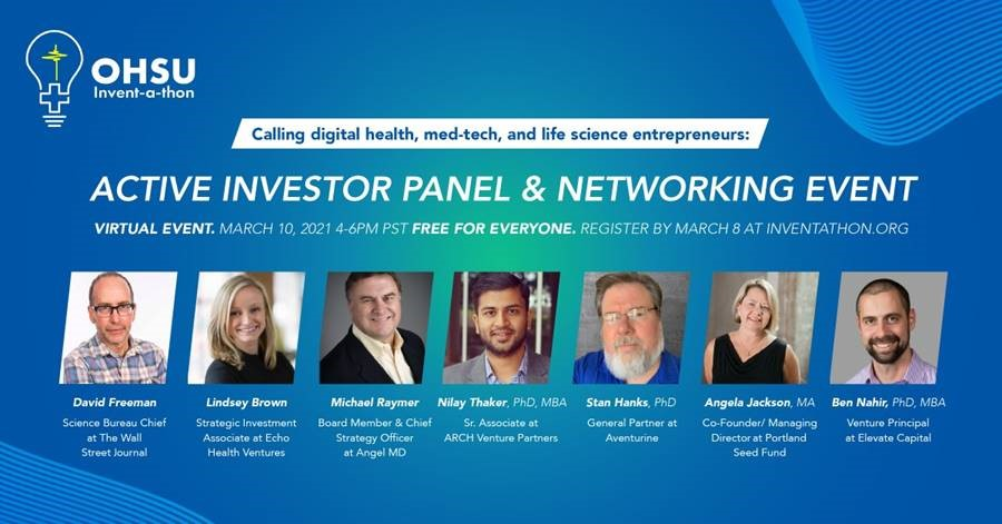 Invent-a-thon Active Investor Panel